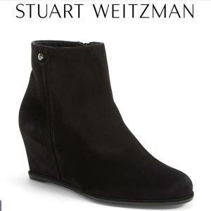 Stuart Weitzman | Suade Wedge Ankle Boot